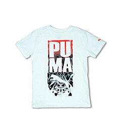 PUMA® Boys' 2T-7 Crash Land Short Sleeve Tee