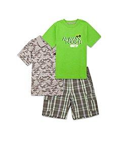 Lee® Boys' 2T-7 3-Piece Always Tough Shirt Set