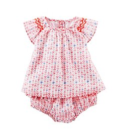OshKosh B'Gosh® Baby Girls' 12-24M Two-Piece Babydoll Set