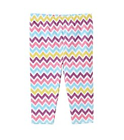 Mix & Match Baby Girls' Chevron Printed Leggings