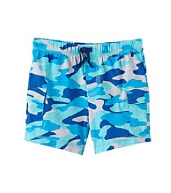 Mix & Match Baby Boys' 12-24 Month Knit Camo Cargo Shorts