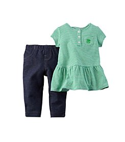 Carter's® Baby Girls' 2-Piece Tunic And Jeggings Set