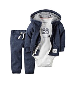 Carter's® Baby Boys' 3-Piece Jacket And Pants Set