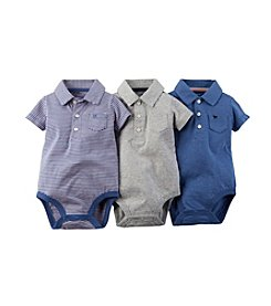 Carter's® Baby Boys' 3-24M Three-Piece Assorted Bodysuits