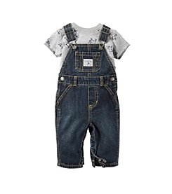 Carter's® Baby Boys' 3-24M Two-Piece Overalls And Tee Set