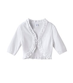 Miss Attitude Girls' 7-16 Double Ruffle Cardigan