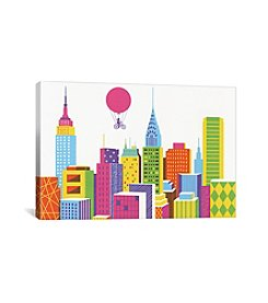 iCanvas New York by Boyoun Kim Canvas Print