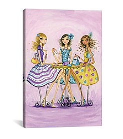 iCanvas Spring into Shopping Accessorize by Bella Pilar Canvas Print