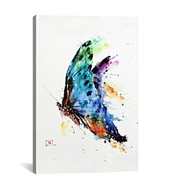 iCanvas Butterfly by Dean Crouser Canvas Print