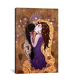 iCanvas After the Kiss by Jeremiah Ketner Canvas Print