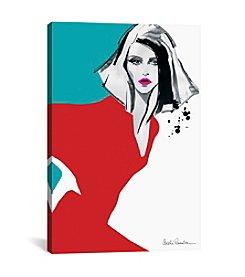 iCanvas Red Dress by Aasha Ramdeen Canvas Print
