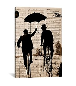 The Umbrella by Loui Jover Canvas Print