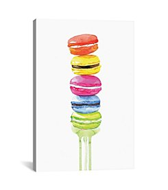 iCanvas Macarons by Rongrong DeVoe Canvas Print