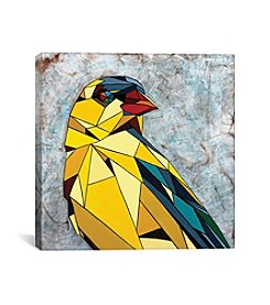 iCanvas American Goldfinch by DAAS Canvas Print