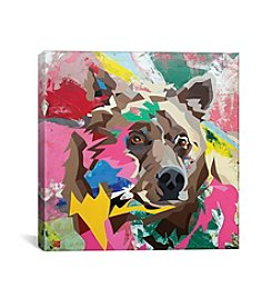 iCanvas Grizzly by DAAS Canvas Print