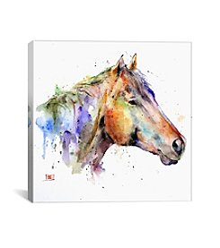 iCanvas Horse by Dean Crouser Canvas Print