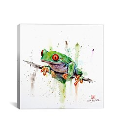 iCanvas Frog by Dean Crouser Canvas Print