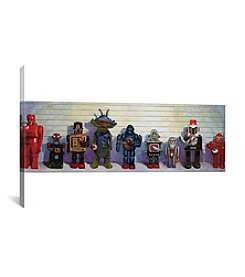 iCanvas Line-Up by Eric Joyner Canvas Print