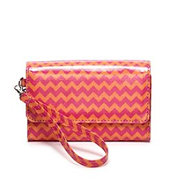 Relativity® Chevron Midi Cell Wristlet