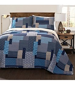 Lush Decor Ethan 3-pc. Quilt Set
