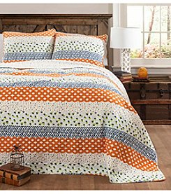 Lush Decor Franny 3-pc. Quilt Set