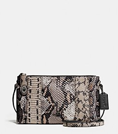 COACH CROSBY CROSSBODY IN PIECED EXOTIC EMBOSSED LEATHER