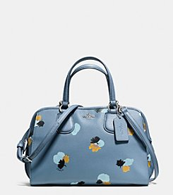 COACH NOLITA SATCHEL IN FLORAL PRINT LEATHER