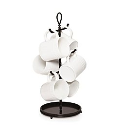 Gourmet Basics by Mikasa Rope Cast Base 6-Mug Tree