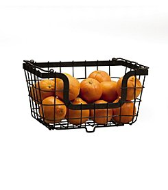 Gourmet Basics by Mikasa General Store Stacking and Nesting Basket