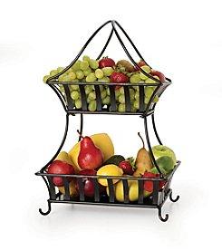 Gourmet Basics by Mikasa Bristol 2-Tier Basket