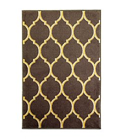 Bacova® Quatrefoil Grey Accent Rug