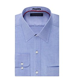 Tommy Hilfiger® Men's Regular Fit Solid Pinpoint Dress Shirt