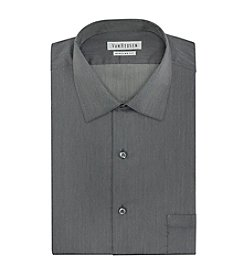 Van Heusen® Men's Big & Tall Herringbone Patterned Dress Shirt