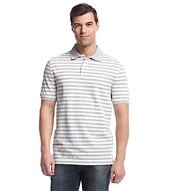 John Bartlett Consensus Men's Short Sleeve Feeder Stripe Pique Polo