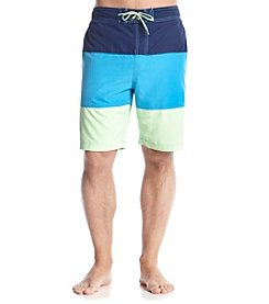 Le Tigre Men's Colorblock Swim Trunks