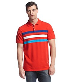 Le Tigre Men's Engineered Chest Stripe Pique Polo
