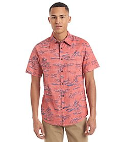 Ocean Current® Men's Hidden Hula Short Sleeve Woven Button Down