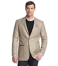 Tallia Orange Men's Textured Solid Sport Coat
