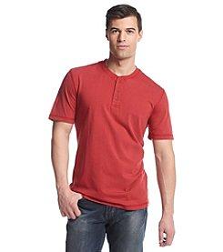 Ruff Hewn Men's Short Sleeve Solid Henley Shirt