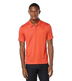 Perry Ellis® Men's Short Sleeve Open Polo Shirt