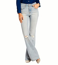 Levi's® Juniors' High Rise Flare Jeans