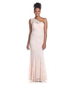 Morgan & Co.® Lace Mermaid Gown