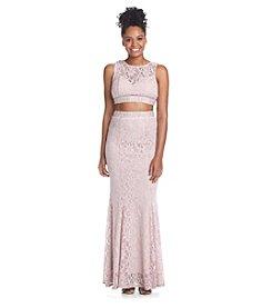 Trixxi® Lace Two Piece Dress