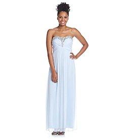 Trixxi® Jeweled Pleated Dress