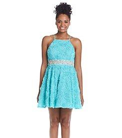 Trixxi® Rose Soutache Party Dress
