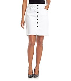Earl Jean® Petites' Denim Skirt