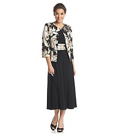 Jessica Howard® Floral Jacket Dress