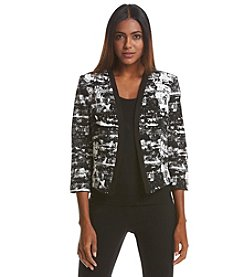 Nine West® Printed Jacket