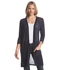 Chelsea & Theodore® Open Front Cardigan