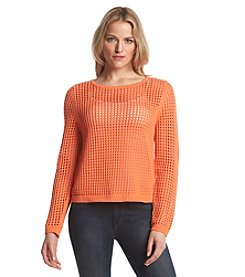 Fever™ Eyelet Sweater